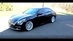 NEW WHEELS!! Infiniti G37XS on Velgen Wheels VMB7