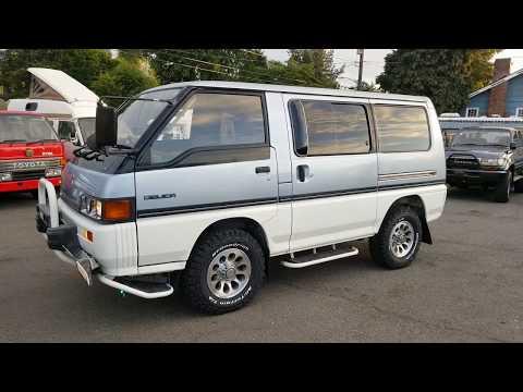 FOR SALE: Mitsubishi Delica L300, 1990, AT Turbo Diesel 4D56