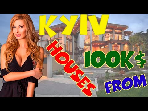 ✅ KYIV Houses Review 🏰 What can you buy from 100K 💵 Real Estate 🇺🇦