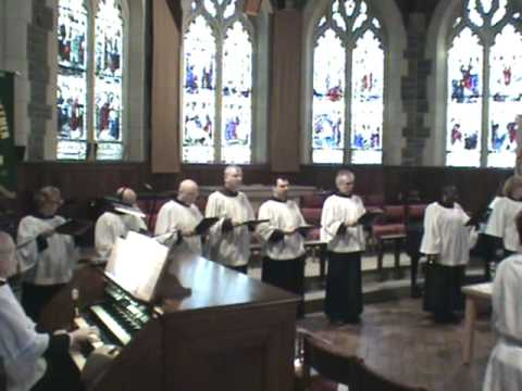 "Hymn - ""Joyful, Joyful We Adore You"", Choir, Congregation, Pipe Organ"