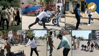 India Lockdown: Police in Action