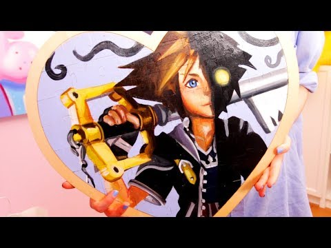 Kingdom Hearts - Puzzle Painting