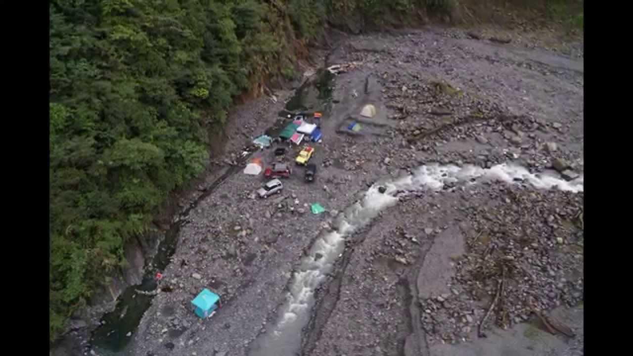 多望溪 溫泉 野營 空拍 - YouTube