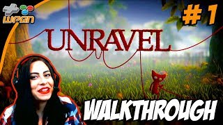 UNRAVEL - Tutorial / Walk-through / Gameplay - With WPGN Mom