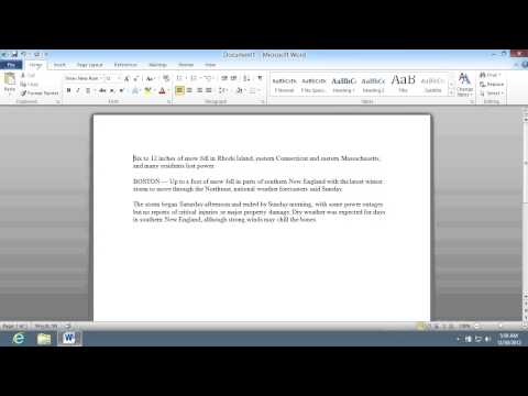 How To Show Word Count In Microsoft Word 2010