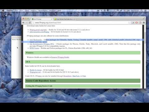 how to merge mp4 and m4a files (ffmpeg method)