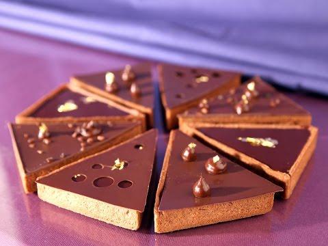 Tartes individuelles au Cara Crakine et chocolat Inaya par Philippe Bertrand