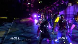 1. Danny Saucedo - In The Club (Melodifestivalen 2011 Final)