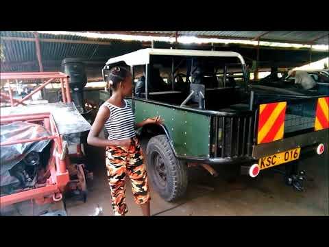 12 year old motor girl from Kenya vs. Evil Bobber