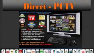 DIrect PC TV_Internet on Tv_watch tv online