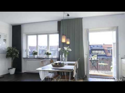 Small but Fantastic Penthouse Apartment in Stockholm