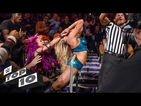 Thumbnail: Brawls in the crowd - WWE Top 10