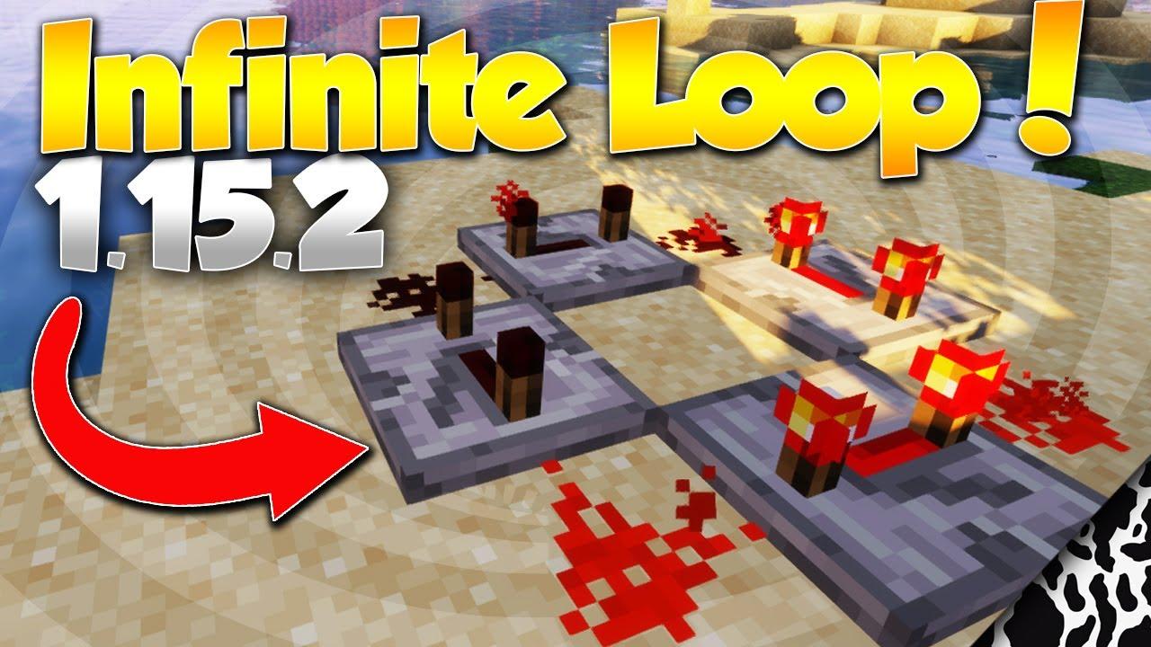 Minecraft Redstone Repeater Infinite Loop Tutorial 6.65.6 (6060)