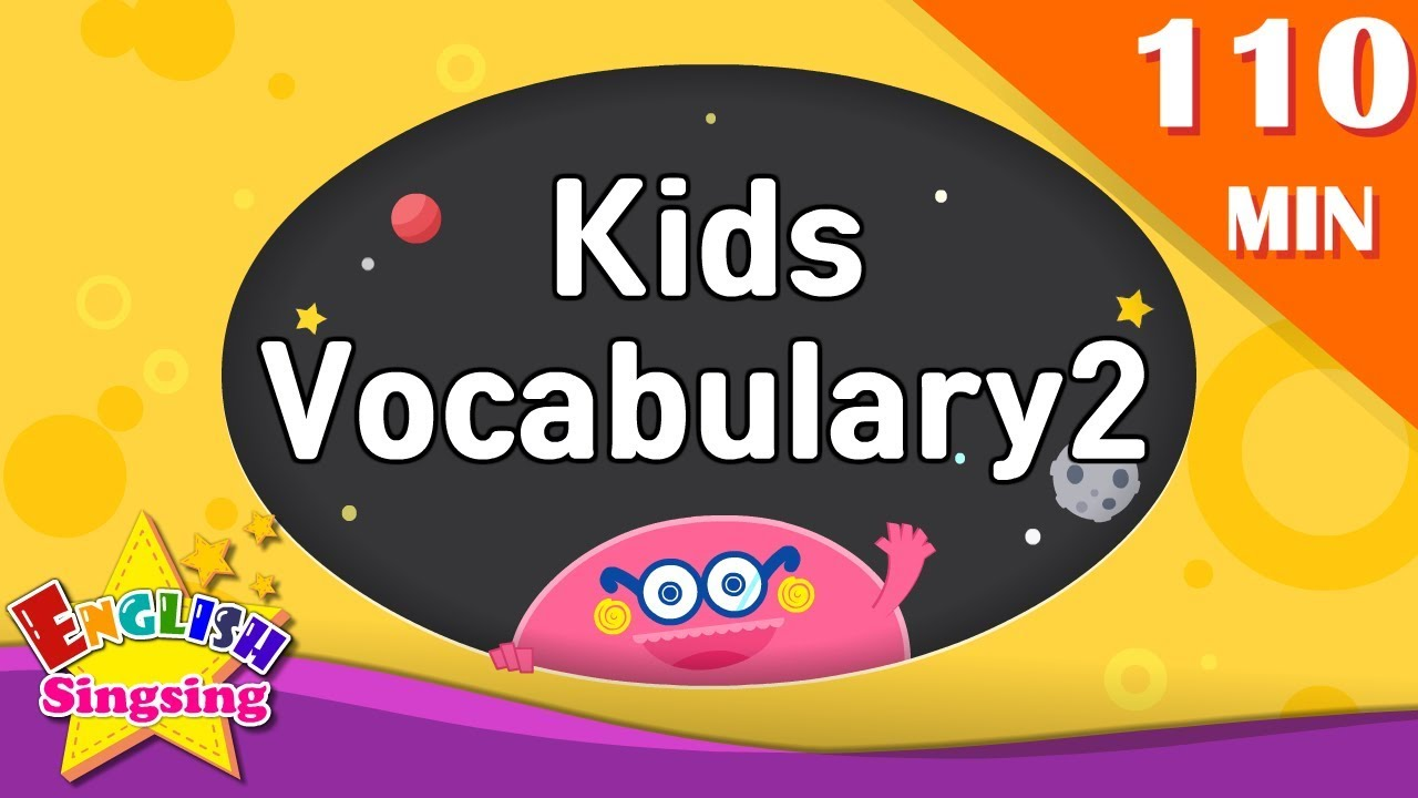 Download Kids vocabulary 2 compilation - Animation Words collection (ABC first Dictionary) English  for kids