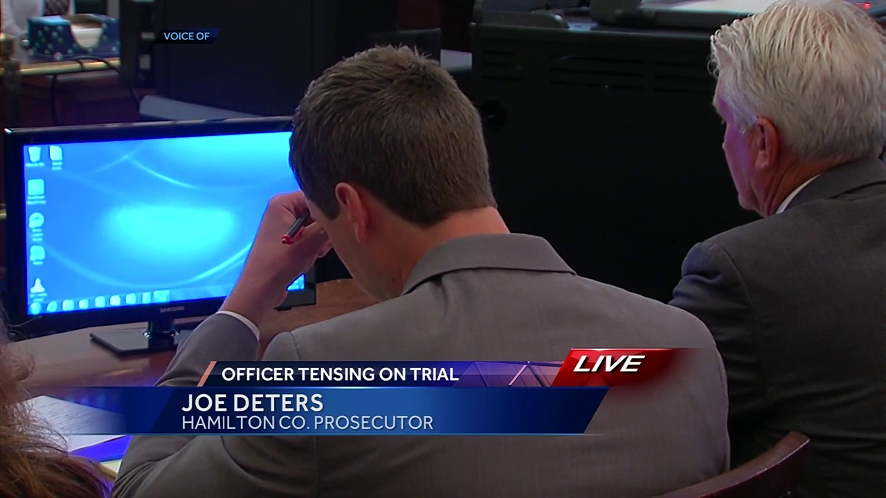 Ray Tensing trial: Opening statements paint two different versions of traffic stop
