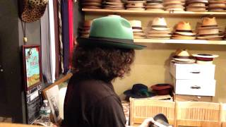 Kevin From Pork Pie Hatters-shape A Fedora Into A Pork Pie