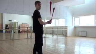 Видео уроки поинга: Бабочка - Butterfly (Forward)