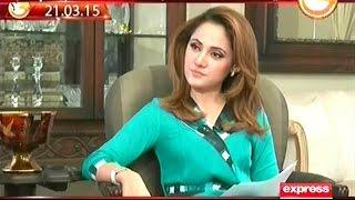 G for Gharida Farooqi - 5 February 2016