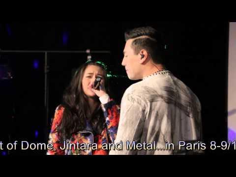 Dome+Jintara+Metal in Charity Concert - Paris 08-09/11/2014