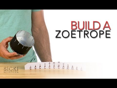 Build a Zoetrope - Sick Science #150