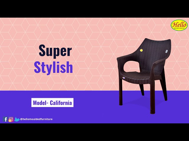 Super Stylish Chairs presented by Hello Moulded Furniture