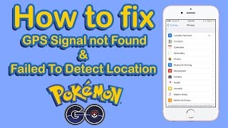 Download Pokemon Go Gps Signal Not Found Fix Failed To