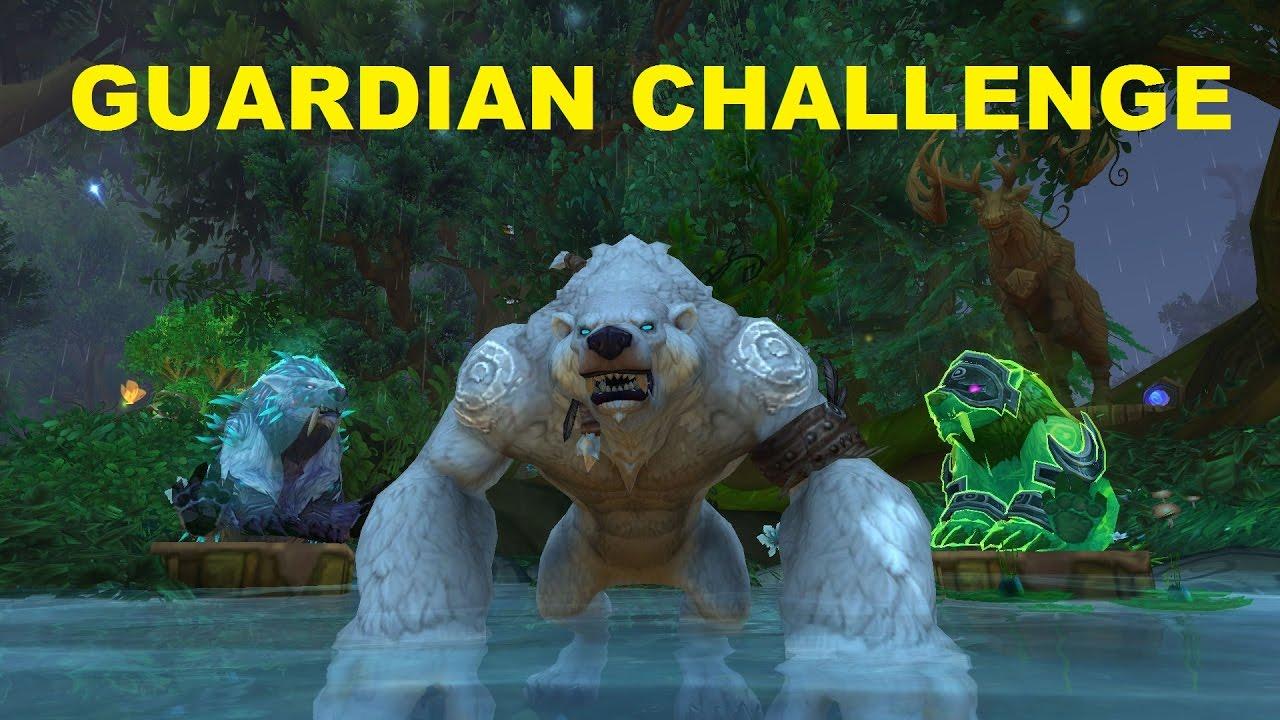 7.2 Guardian Druid Tank Challenge - Mage Tower - Highlord Kruul ...