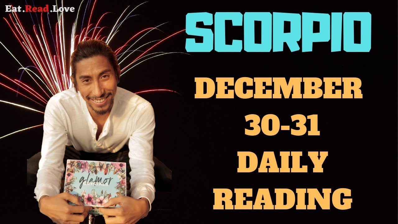 scorpio weekly tarot december 30 2019