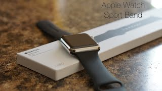 Apple Watch Sport Band Review