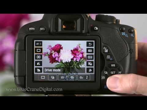 Introduction to the Canon Rebel T5i/ 700D: Basic Controls