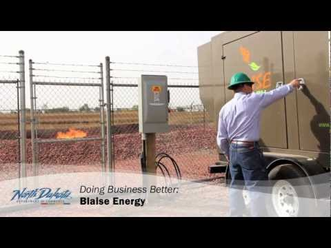 Blaise Energy - Doing Business Better in ND