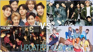 Download Video (UPDATED) EXO vs BTS vs Got7 vs SEVENTEEN (Ranking in different categories) MP3 3GP MP4