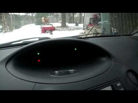 Toyota Yaris I Hazard Lights And Light Warning