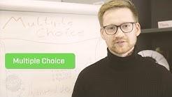 Für Multiple Choice Test lernen und mit 1,0 bestehen!