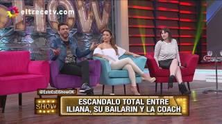 """Iliana Calabró furiosa con su bailarín porque agregó una """"escena"""" hot que no estaba en la coreo"""