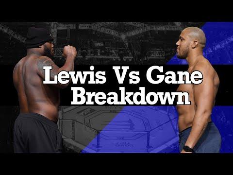 UFC 265 - Derrick Lewis vs Ciryl Gane Breakdown