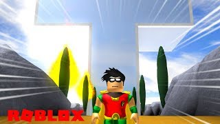 JOINING THE TEEN TITANS IN ROBLOX Teen Titans Go