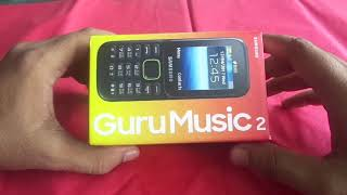 samsung guru music 2 unboxing NEW BOX 2020 SM-B310E