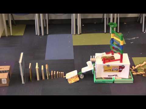 Technion Rube Goldberg Machine Challenge Abraham Joshua Heschel School Finalist