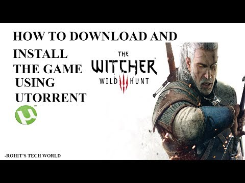 Download and Install the witcher 3 wild hunt game
