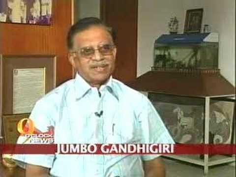Jumbo Gandhigiri in Andhra