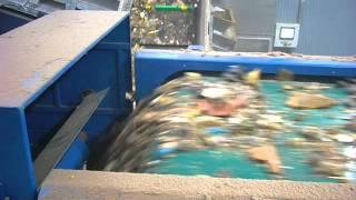 Separator aluminium recykling drewna