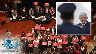 Senado avala Guardia Nacional, por unanimidad