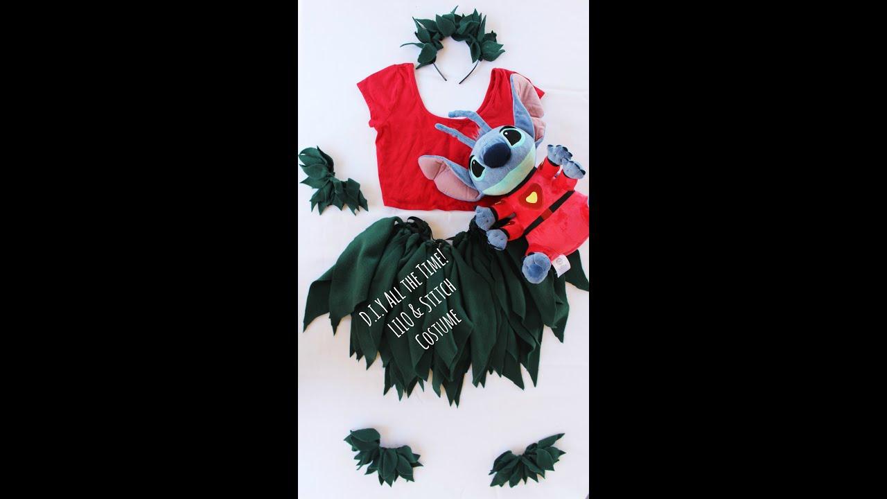 D I Y All The Time Lilo Stitch Costume Read Description Box Youtube