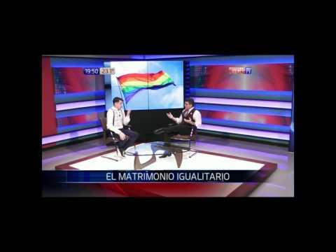 Matrimonio igualitario: Simón Cazal en estudios de NPY