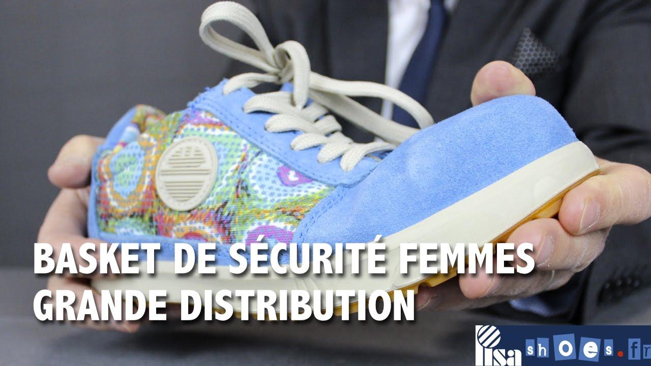 revendeur d2f95 692b5 BASKET DE SECURITE FEMME LEGERE ET CONFORTABLE