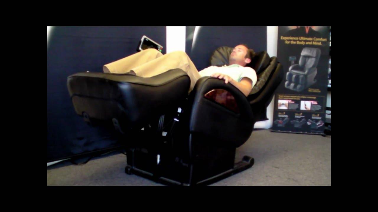 SANYO HEC DR7700 Massage Chair Operation wmv