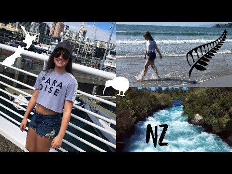 NEW ZEALAND TRAVEL VLOG - Air NZ Premium Economy & Business Class
