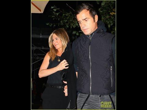 Jennifer Aniston ] [& Justin Theroux Enjoy Dinner Date in NYC ] [ photos ]