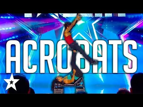 MIND-BLOWING Acrobatic Audition on Got Talent France | Got Talent Global
